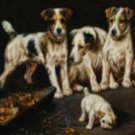 The Litter Oil Painting on Canvas  (22232515454)
