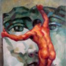 Facing your Demons Oil Painting on Canvas  (22232486439)