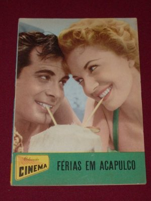 Vacaciones en Acapulco Movie Memorabilia Collection 1950's
