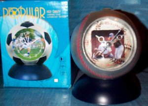 Baseball Alarm Clock - Travel, Kids Room