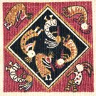 Coasters Set of 6 Dancing Kokopelli Southwest theme  #4