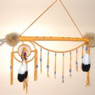 Indian Fancy Dance Stick Coyote Skull Native American