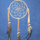 "Dreamcatcher 5"" Authentic Native American Navajo TAN #701"