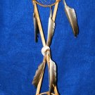 Native American Crossed Arrows w/ Dreamcatcher & Medicine Wheel Wall display CK3