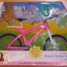 Barbie Pack 'N Go Pink Bike with Accessories NIB 1999