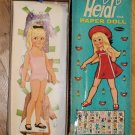 Vintage Whitman Heidi Doll Paper Doll with Box 1967