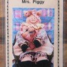 Mrs. Piggy and Babies Country Pattern 15 inches
