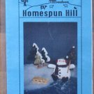 Homespun Hill Winter Wonderland Pattern Snowman Trees