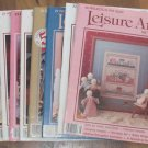 Leisure Arts Magazines Various Years 8 Issues VGC