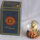 Boyds Spooky Treats Mini Water Globe Resin #393005 1E 2000