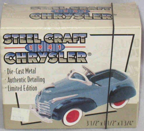 Steel Craft 1941 Chrysler Car Xonex LE Die-Cast NIB 1998