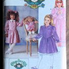 Vintage Butterick Cabbage Patch Doll CPK and Girls Dress Pattern 4151 Size 5-6X NIP