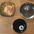 Vintage Lot Ashtrays Camel Cig Beanbag Horse GM Car