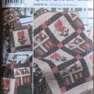 Simplicity Pattern 9371 Quilt Block Club Schoolhouse Sunbonnet