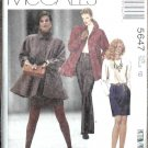 McCall's Pattern 5647 Jacket, Top, Skirt, Pants Unused Women's Size 10