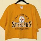 Pittsburgh Steelers NFL Sports Half Shirt Size Large