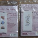 Janlynn Ribbon Embroidery Boutique Banners Two Kits NIP