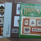 Cross Stitch X-Stitch Puckerbrush Booklets Xmas Country More
