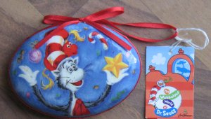 Dr. Seuss Hooray it's Jingle Day Ornament New with Tag