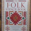 The Folk Stencil Book Louise Drayton 30 Unused Stencils New