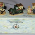 Retired Boyds Miniature Village Pieces Ted E. Bear Shop MIB 2000