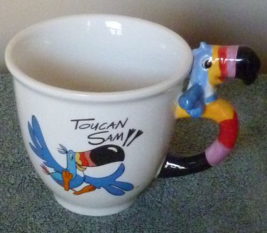 Kellog's Toucan Sam Mug or Cereal Bowl Fruit Loops 2002