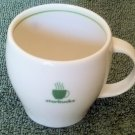 "Starbucks Barista Demitasse or Expresso 3"" Cup Green ring 2003"