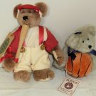 Boyds Sports Bears Basketball and Yogi Baseball Bear NWT