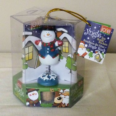 JOLE JO!E Top Bottle Rockers Set of Three Xmas Designs NIP