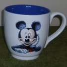 Disney Store Mickey Mouse Blue and White 20 oz Mug Cup