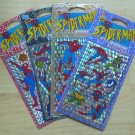 Marvel Mello Smello Spiderman Spider-Man Stickers 4 Different Packages 1994