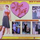 I Love Lucy Magnetic Mix & Match Dress-up with Backgrounds MIP 1996