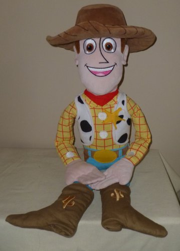 Disney Toy Story Plush 24 Inch Woody Clean VGC