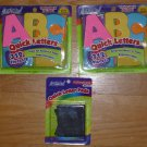 Artskills Quick Letters 312 Repositionable Pastel Pads 2 Pkgs and 156 Black Pads