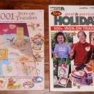 Iron-on Transfer Books 1500 Transfers for painting & Embroidery Holidays More