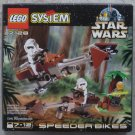 LEGO STAR WARS SPEEDER BIKES 7128 1999 NIB RETIRED