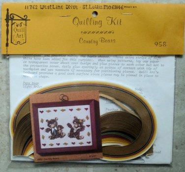 Vintage Designs by Malinda 1979 Quill Kit #280 Christmas Snowflakes 8  NIP