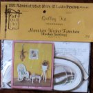 Vintage Quill Art Quill Kit #772 Dollhouse Miniature Wicker Rocker Setting NIP