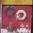 Vintage 1979 Quill Art Quill Kit #330 Christmas Green Holiday Wreath NIP