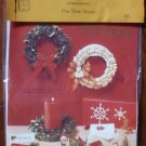 Vintage 1979 Quill Art Quill Kit #331 Christmas Corn Husk Wreath NIP