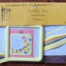 Vintage Quill Art Quill Kit #931 Contentment Verse Poem with Frame 1982 NIP