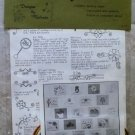 Vintage Designs by Malinda #244 All Occasion Gift Tags 1980 NIP