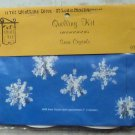 Vintage Quill Art Quill Kit #939 Christmas Snow Crystals Ornaments 5 NIP
