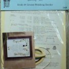 Vintage Quill Art Quilling Kit #948 Bride and Groom Wedding Border NIP