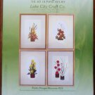Lake City Craft Co Pretty Fringed Blossoms Quilling Kit #215 4 Designs NIP