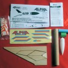 Estes Alpha Model Rocket Kits #1225 New in Package Set of Two