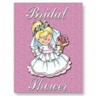Set of 10 Bridal Shower Invitations POSTCARDS kjsweddingshop