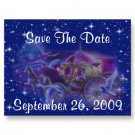 Set of 50 PRINCESS Save The Date Wedding POSTCARDS kjsweddingshop