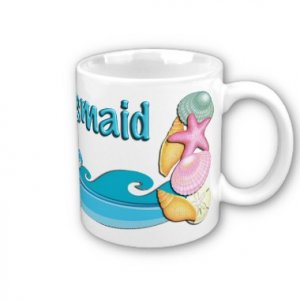 Bridesmaid Gift BEACH Theme Coffee Mug 11 oz. kjsweddingshop