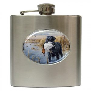 DUCK HUNTING Hip Flask Best Man Groomsmen Gift 6 oz. 17160907 kjsweddingshop